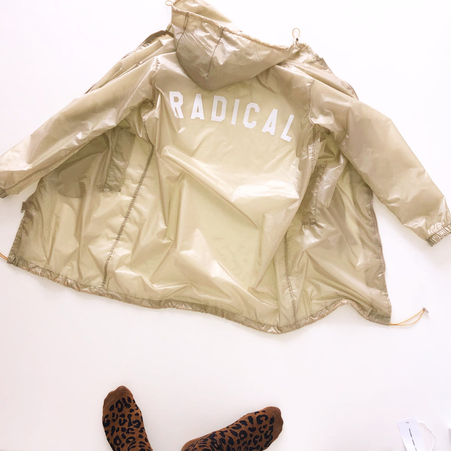 PARKA WINDBREAKER GOLDEN RADICAL
