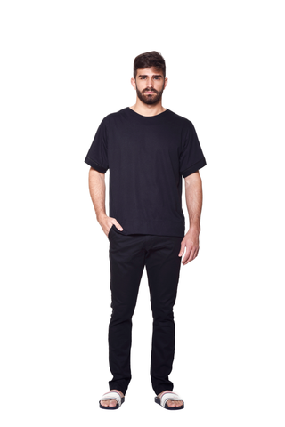SLIM FIT TAILORED CHINO JAZZ BLACK