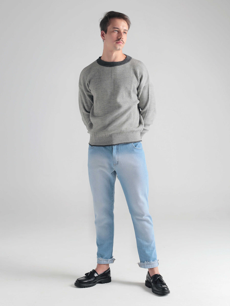 Pullover Essential Light Gray