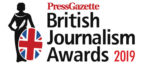 British Journalism Awards 2019 | Regional / Freelance Ticket - £185.00