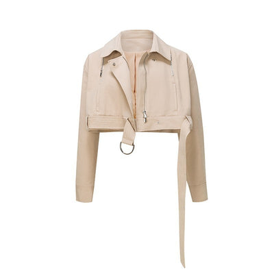 Transformer Zipper Removable Trench Coat