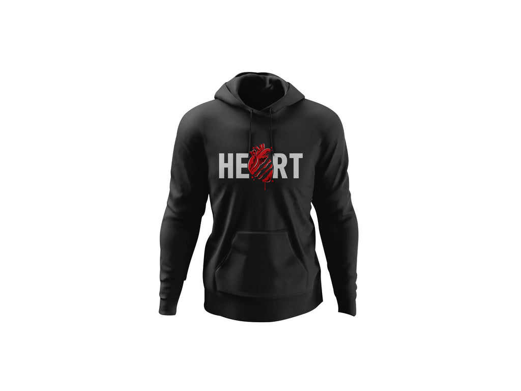 Heart Hoodie - Unlimited Royalty Apparel
