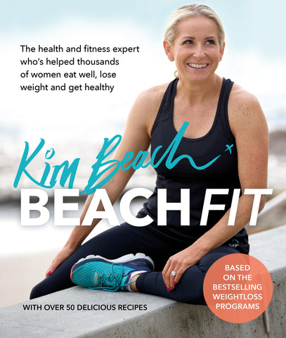 BeachFit Book | Personally Signed By Kim {PREORDER}