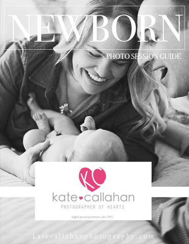 Customizable Newborn Photo Session Guide