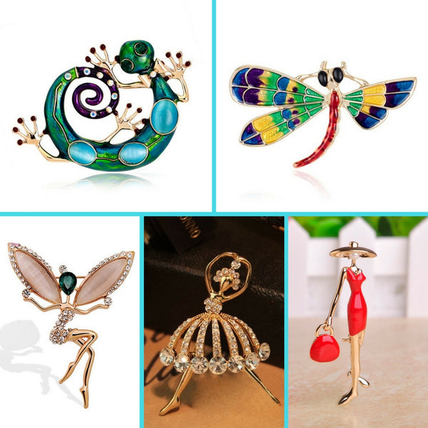 Brooches / Pins