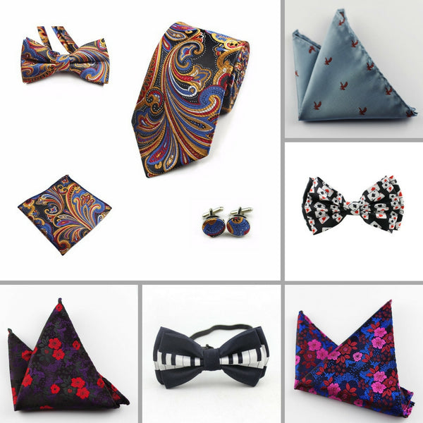 Pocket Squares, Neck & Bow Ties, Scarves & More