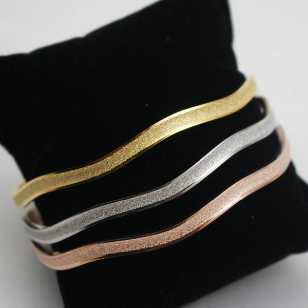 3 Color Bangle Bracelet Set - Luna's Warehouse