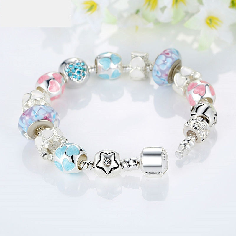 Lots of LOVE Beaded Bracelet - Luna's Warehouse