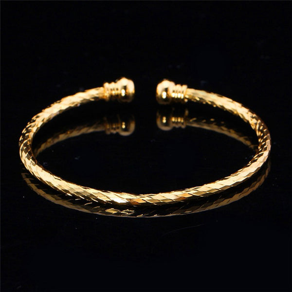 Gold or Silver Cuff Bracelet - Luna's Warehouse