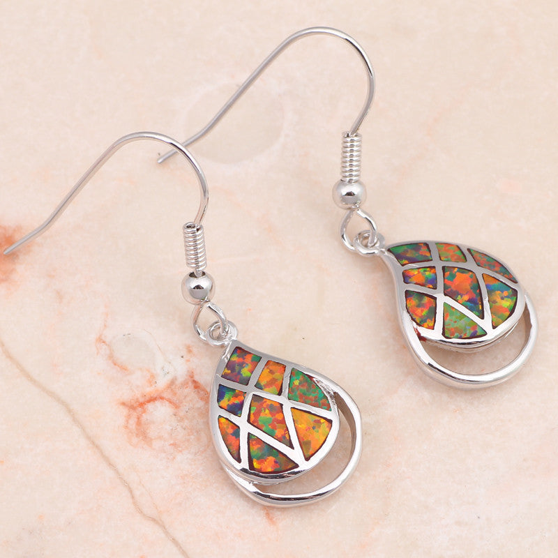 Tear Drop Earrings - Luna's Jewelry Warehouse - 3