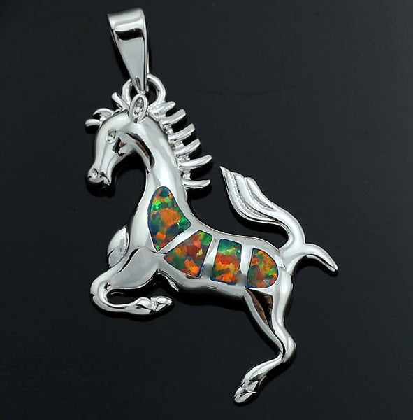 Horse Pendant Necklace - Luna's Warehouse
