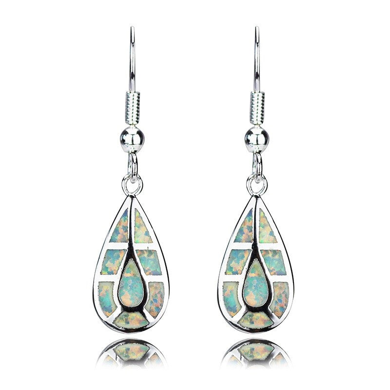Opal Drop Earrings - Luna's Warehouse
