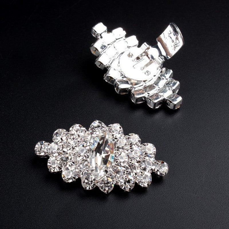 Rhinestone Shoe Clips - Luna's Warehouse