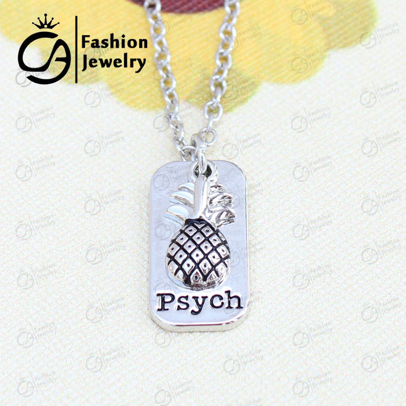 Psych Inspired Necklace or Keychain - Luna's Warehouse