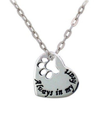 Always In My Heart Pendant Necklace - Luna's Warehouse