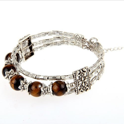 Tiger Eye Fashion Bracelet - Luna's Warehouse