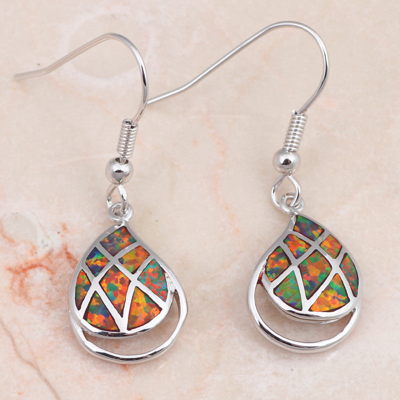 Tear Drop Earrings - Luna's Jewelry Warehouse - 2