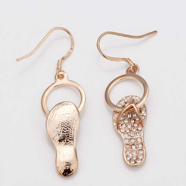 Flip Flop Drop Earrings - Luna's Warehouse