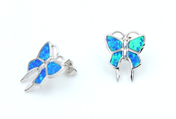 Butterfly Stud Earrings - Luna's Jewelry Warehouse - 1