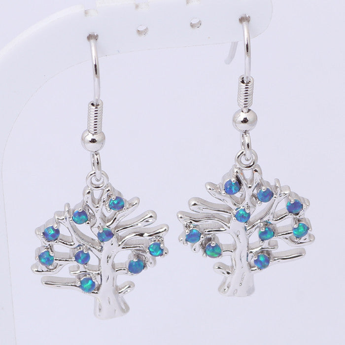 Tree of Life Drop Earrings - Luna's Warehouse