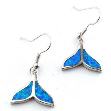 Fish Tail Earrings - Luna's Jewelry Warehouse - 1