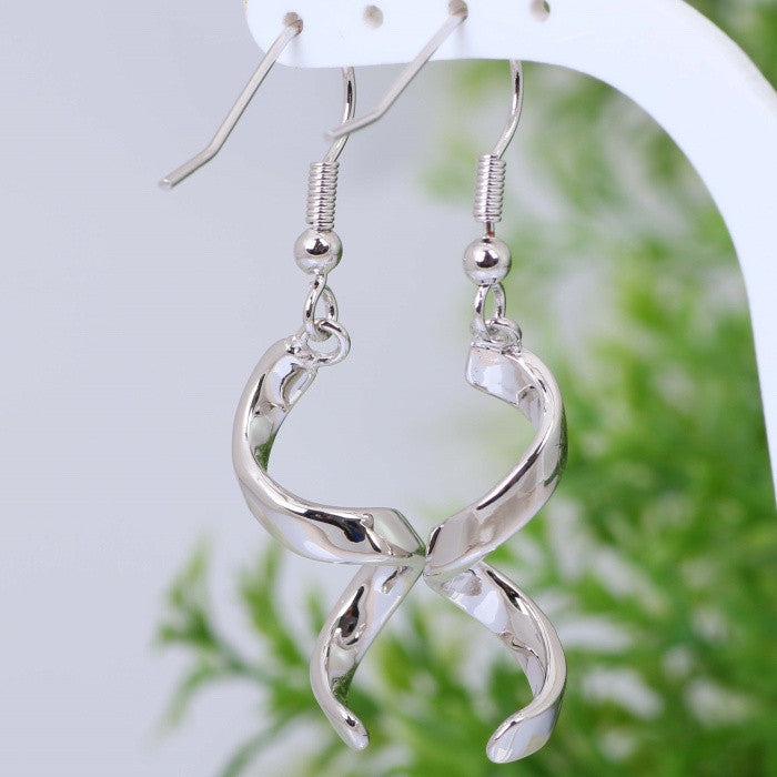 Spiral Drop Earrings - Luna's Warehouse