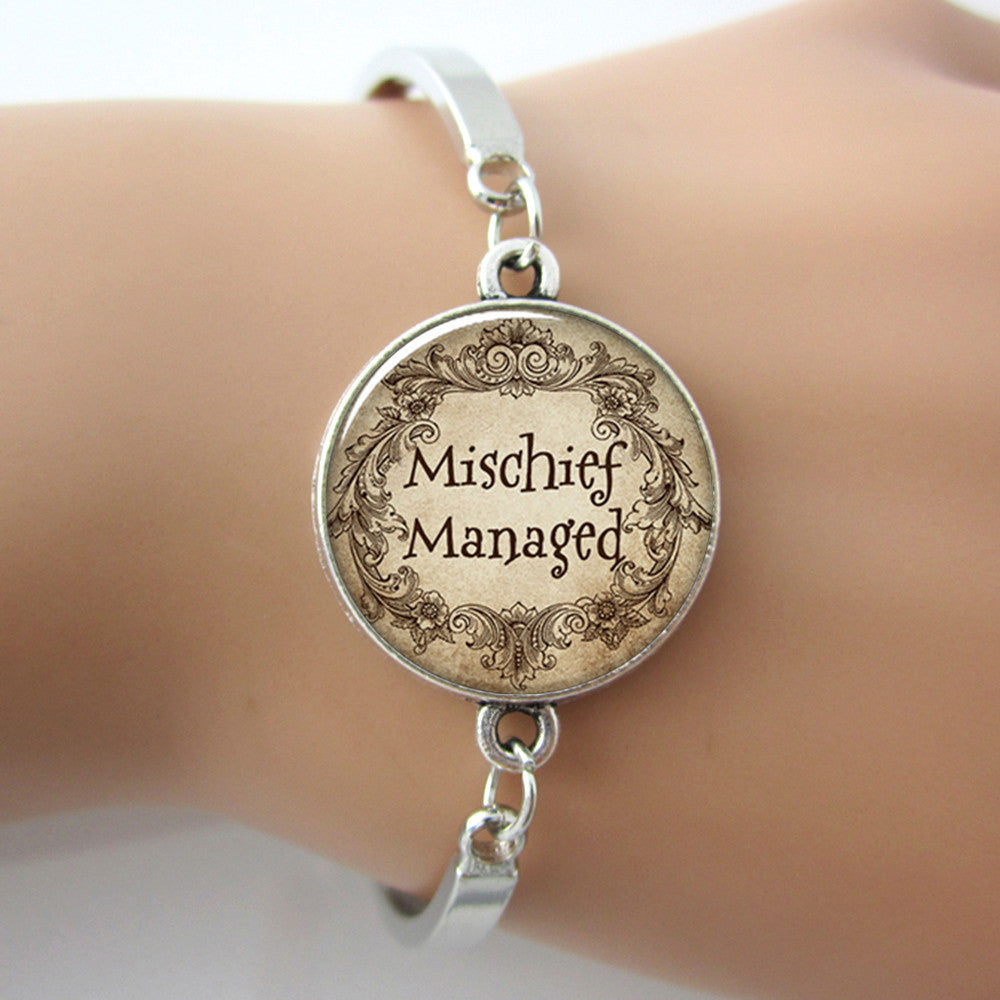 Harry Potter Mischief Managed Bracelet - Luna's Warehouse