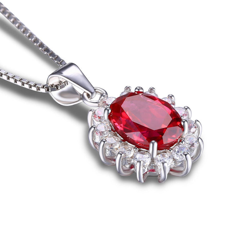 Ruby Pendant - Luna's Warehouse