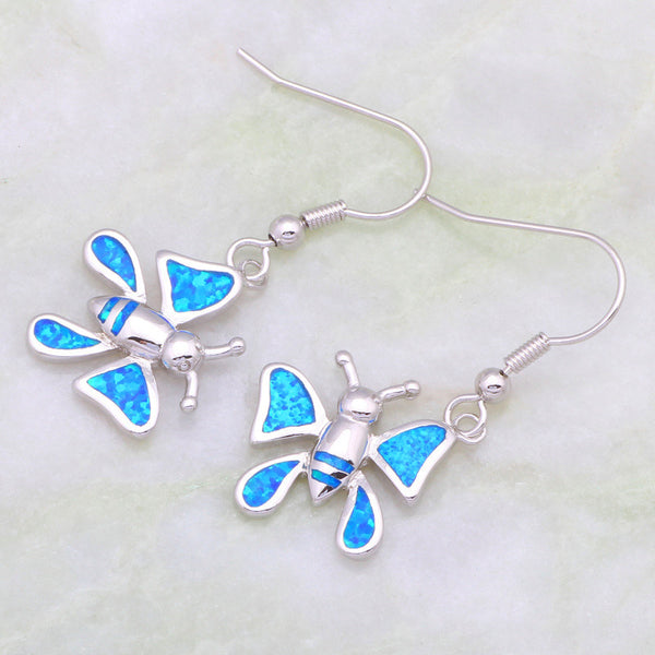 Butterfly Drop Earrings - Luna's Warehouse