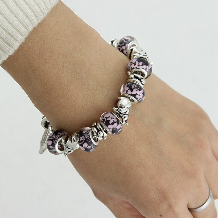 Beaded Elephant Bracelet - Luna's Warehouse