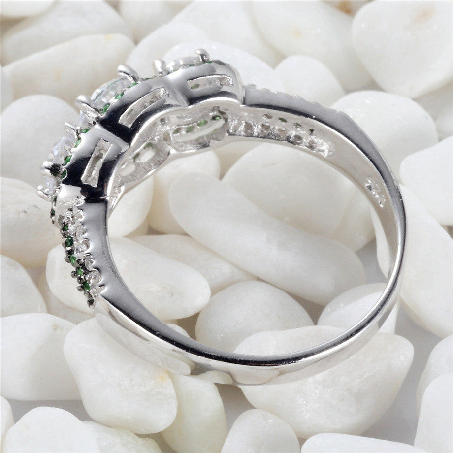 Cubic Zirconia Ring - Luna's Warehouse