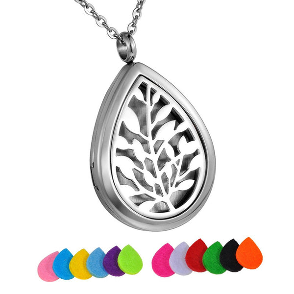 Tree of Life Aromatherapy Diffuser Necklace