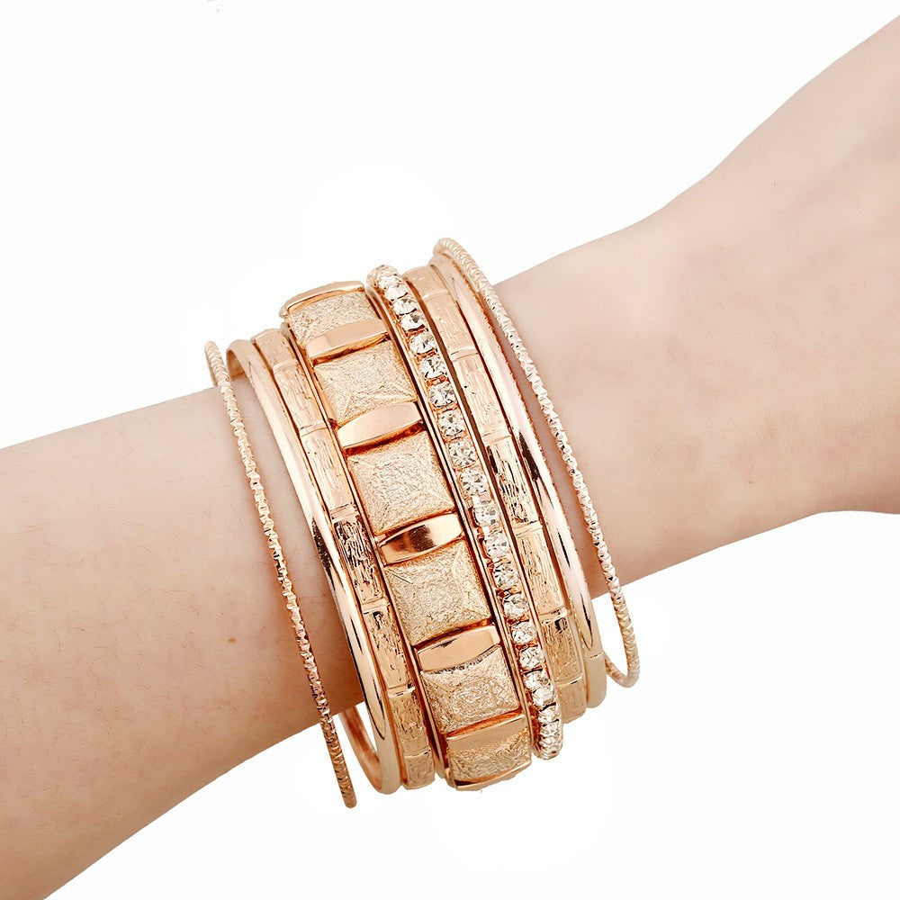 Stacked Bracelet Sets - Luna's Warehouse