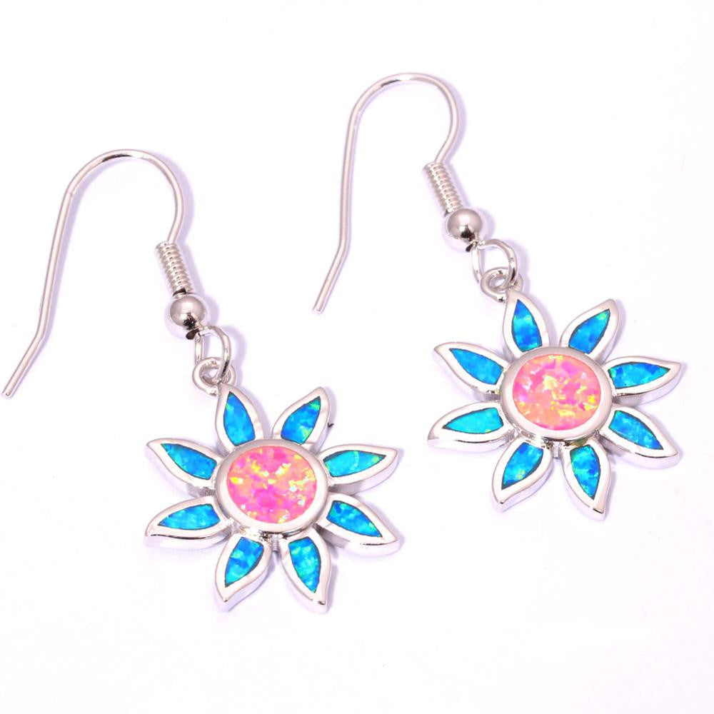 Spring Flower Drop Earrings - Luna's Warehouse