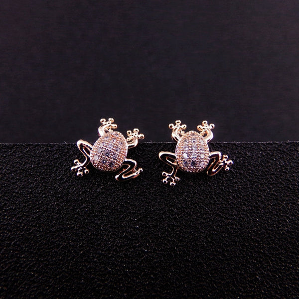 Frog Earrings - Luna's Warehouse