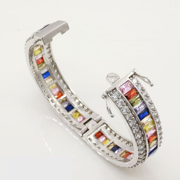 Rainbow Bangle Bracelet - Luna's Warehouse