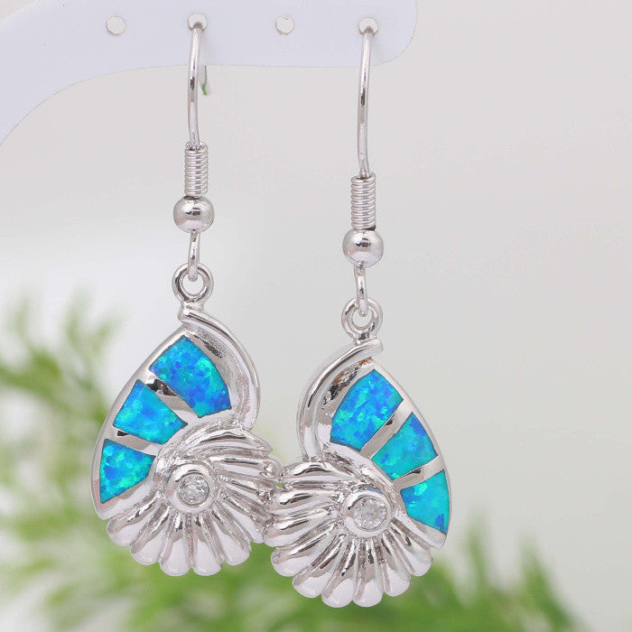 Seashell Drop Earrings - Luna's Warehouse