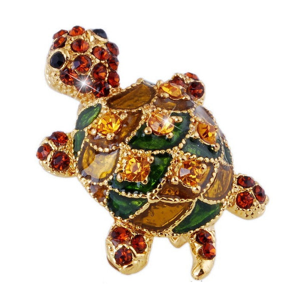 Turtle Brooch - Luna's Warehouse