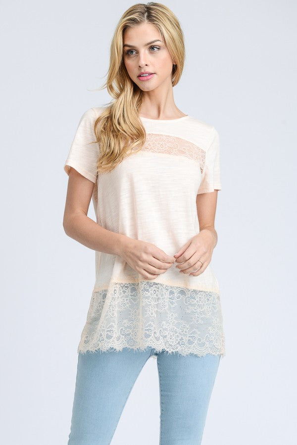Your Perfect Lace Detail Top