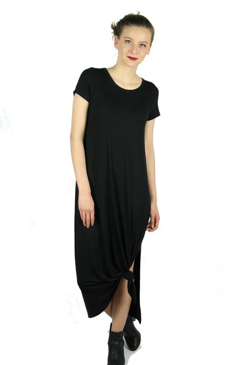 Your Simple Love Black Dress