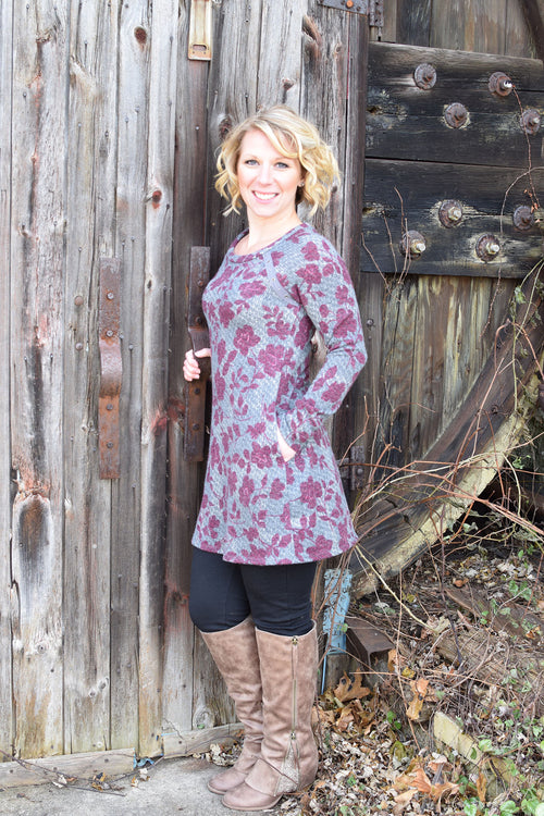 Easy To Be Adorable Floral Dress/Tunic