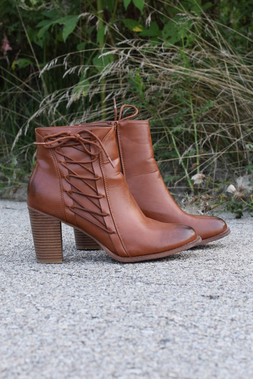 Lace Me Up Booties