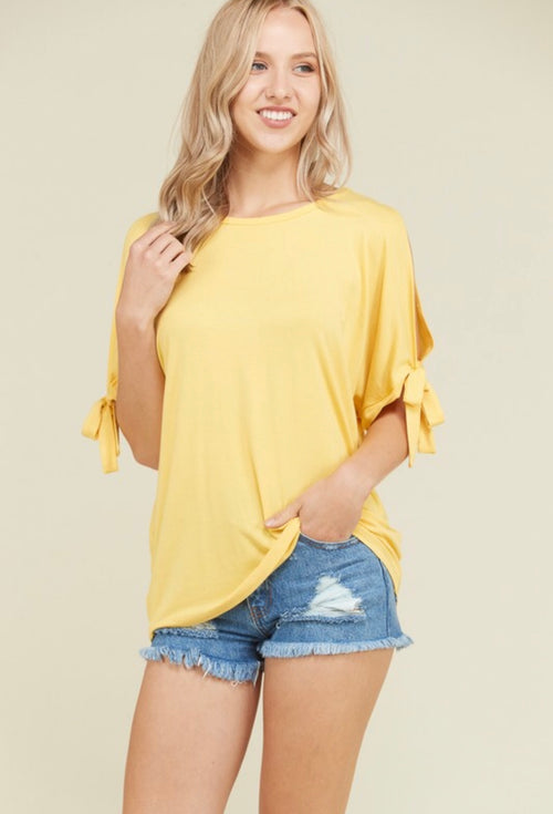 All about Simplicity Mustard Shirt
