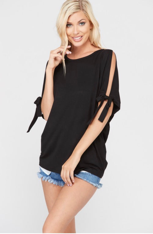 All About Simplicity Black Shirt