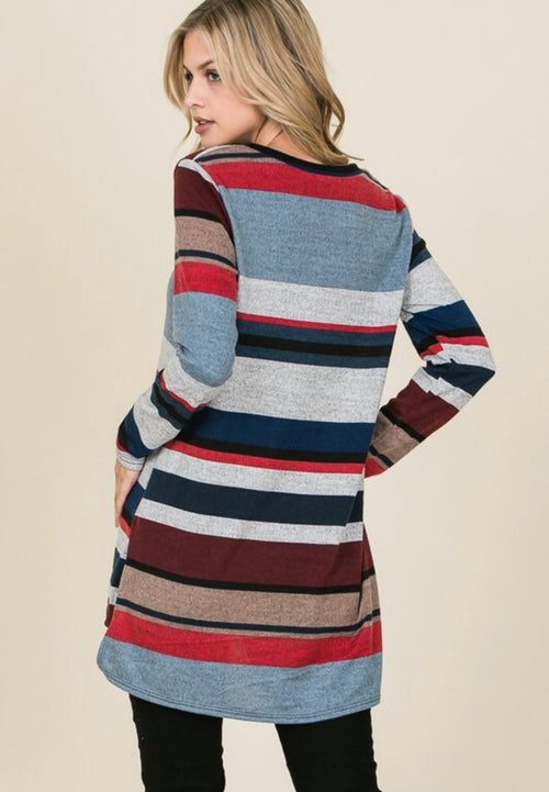 Free & Easy Striped Top