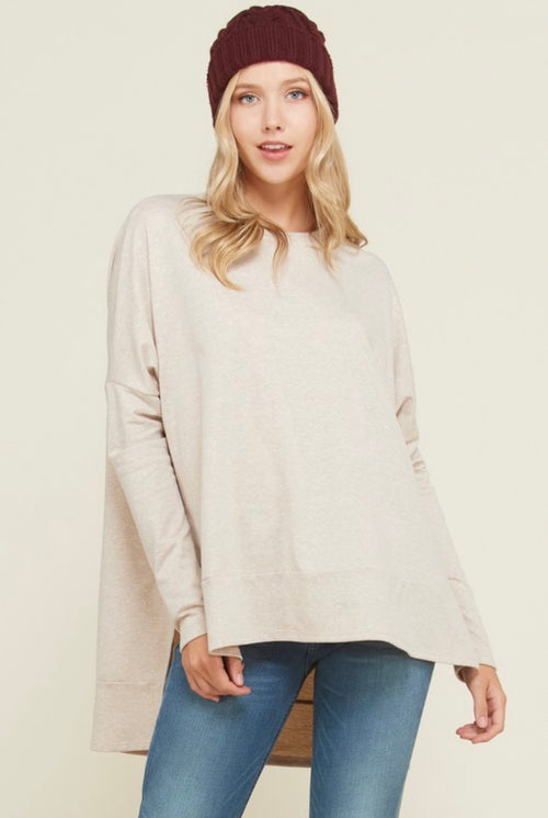 Cozy Up Sweater - Taupe