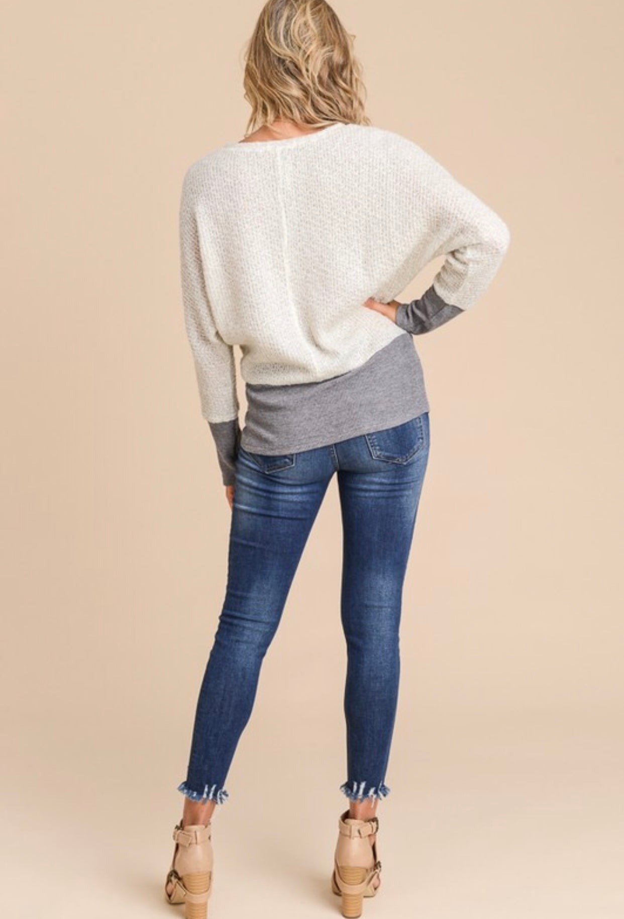 Always Dreamin' Long Sleeve Knit Top