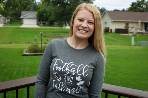 Football & Fall Y'all - Long Sleeve Top
