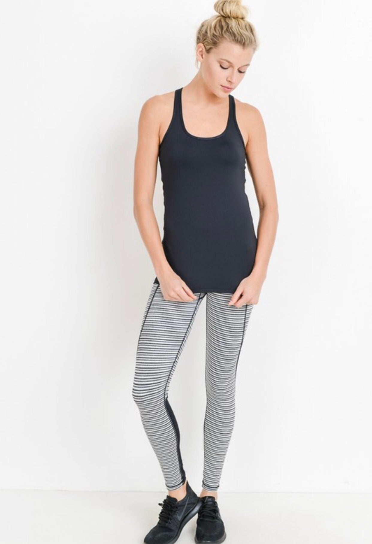 Stripe Lovin' High Wasted Leggings