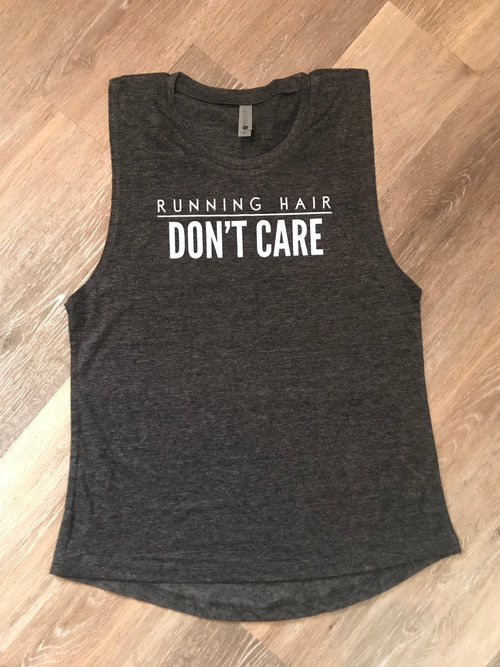 Running Hair Activewear Tank